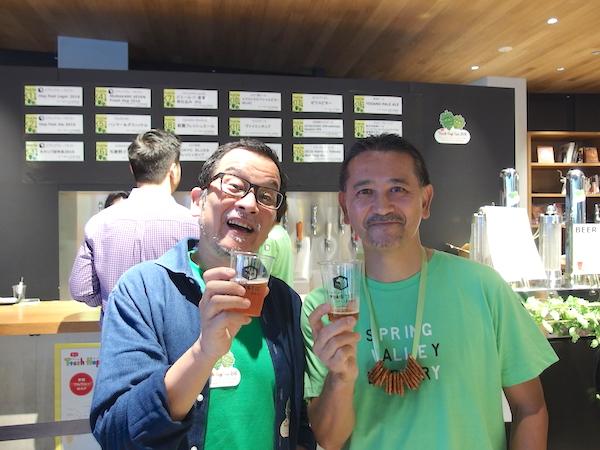 田山智広氏(右)と藤原ヒロユキ氏