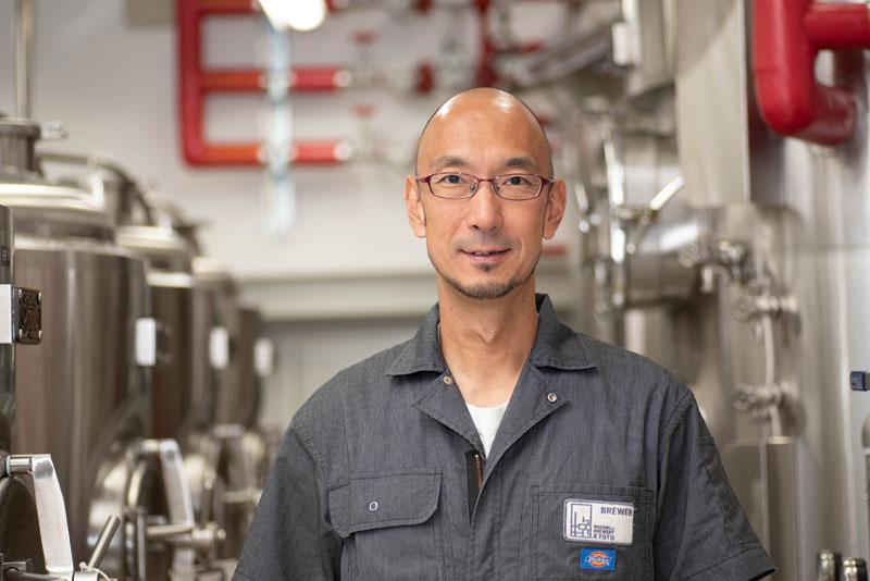 ウッドミルブルワリー・京都代表の辻本大和さん